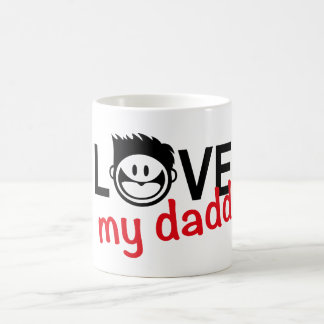I love my daddy n.12 coffee mug