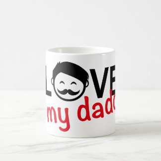 I love my daddy n.2 coffee mug