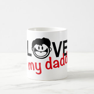 I love my daddy n.4 coffee mug