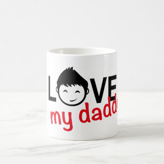 I love my daddy n.9 coffee mug