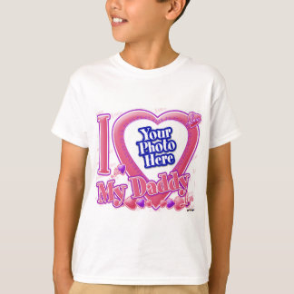 I Love My Daddy pink/purple - photo T-Shirt