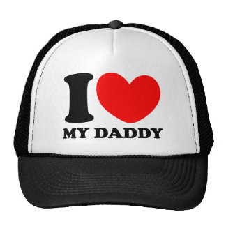 I Love My Daddy Trucker Hat