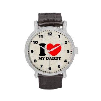 I Love My Daddy Wristwatch