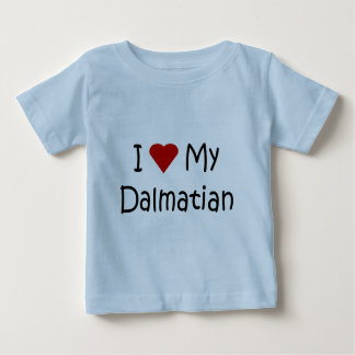 I Love My Dalmatian Dog Breed Lover Gifts Baby T-Shirt