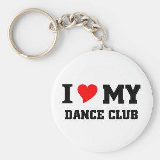 I love my Dance Club Keychain