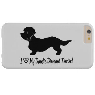 I Love My Dandie Dinmont Terrier Barely There iPhone 6 Plus Case
