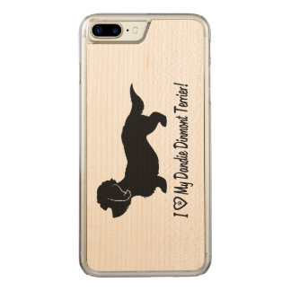 I Love My Dandie Dinmont Terrier Carved iPhone 8 Plus/7 Plus Case
