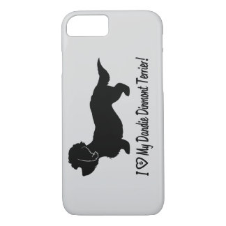 I Love My Dandie Dinmont Terrier iPhone 8/7 Case