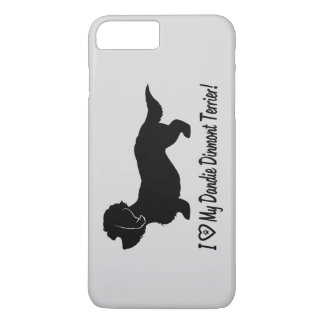 I Love My Dandie Dinmont Terrier iPhone 8 Plus/7 Plus Case
