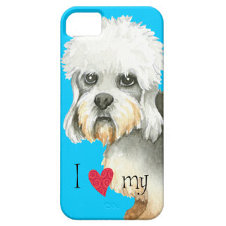 I Love my Dandie Dinmont Terrier iPhone SE/5/5s Case