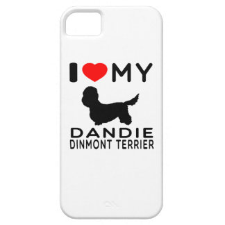 I Love My Dandie Dinmont Terrier. iPhone SE/5/5s Case
