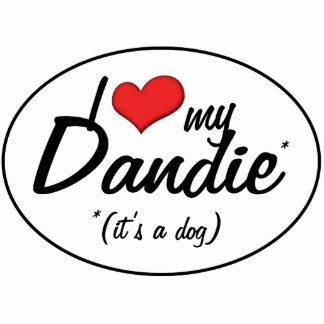 I Love My Dandie (It's a Dog) Statuette