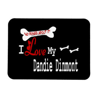 I Love My Dandy Dinmont Terrier Magnet