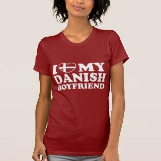 I Love My Danish Boyfriend T Shirt