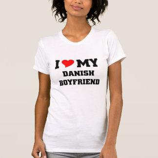 I love my danish boyfriend tee shirt