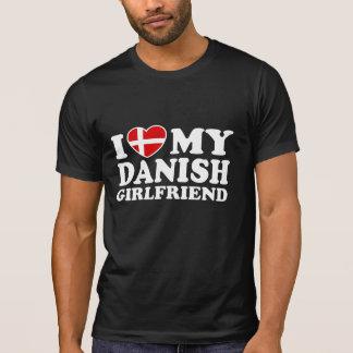 I Love My Danish Girlfriend Shirt