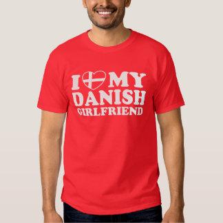 I Love My Danish Girlfriend T Shirt