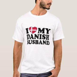 I Love My Danish Husband T-Shirt