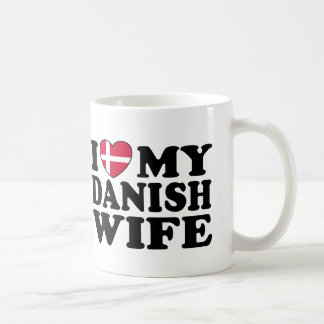 I Love My Danish Wife Coffee Mug