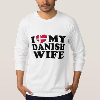 I Love My Danish Wife T-Shirt