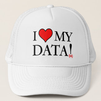 I Love My Data Trucker Hat