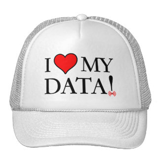 I Love My Data Trucker Hat