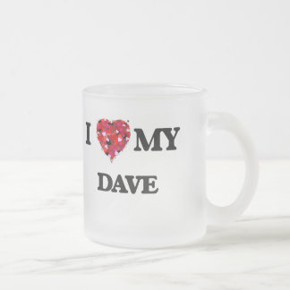 I love my Dave 10 Oz Frosted Glass Coffee Mug