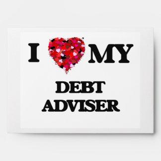 I love my Debt Adviser Envelopes