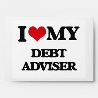 I love my Debt Adviser Envelope
