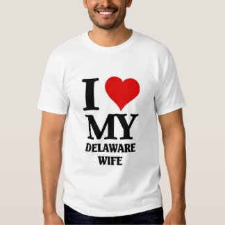 I love my Delaware Wife T Shirt