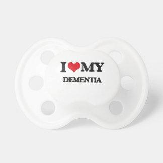 I Love My DEMENTIA BooginHead Pacifier