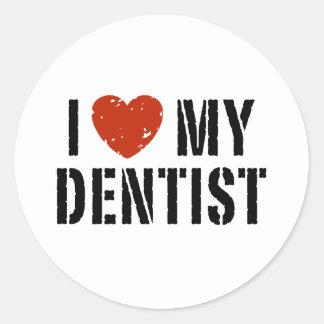 I love My Dentist Sticker