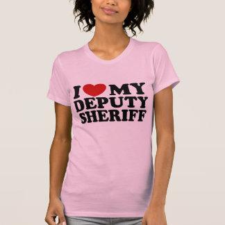 I Love My Deputy Sheriff T-Shirt