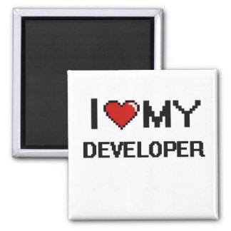 I love my Developer 2 Inch Square Magnet