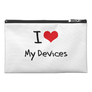 I Love My Devices Travel Accessory Bag