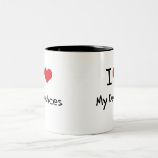 I Love My Devices Mugs