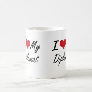 I love my Diplomat Classic White Coffee Mug