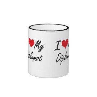 I love my Diplomat Ringer Coffee Mug