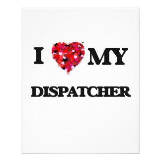 "I love my Dispatcher 4.5"" X 5.6"" Flyer"