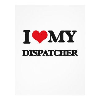 I love my Dispatcher Full Color Flyer