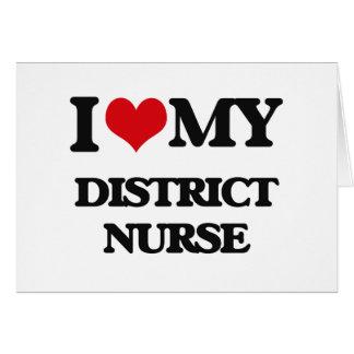 I love my District Nurse Cards