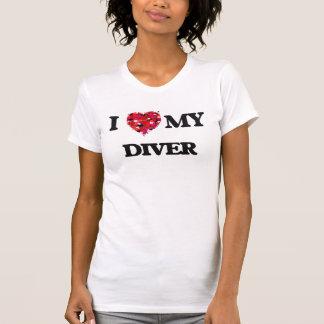 I love my Diver T-shirts