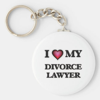 I love my Divorce Lawyer Keychain