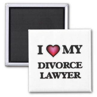 I love my Divorce Lawyer Magnet