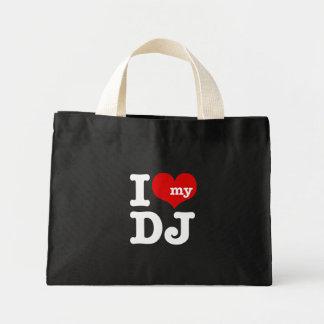 I love My DJ Mini Tote Bag
