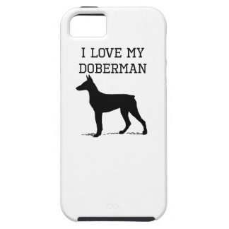 I Love My Doberman iPhone 5 Cases