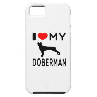 I Love My Doberman. iPhone 5 Cases
