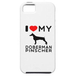 I Love My Doberman Pinscher. iPhone 5 Cover