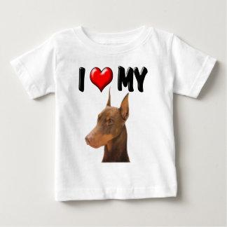 I Love My Doberman Tee Shirt