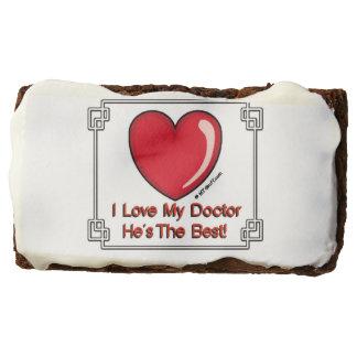 I Love My Doctor Cookies Brownie
